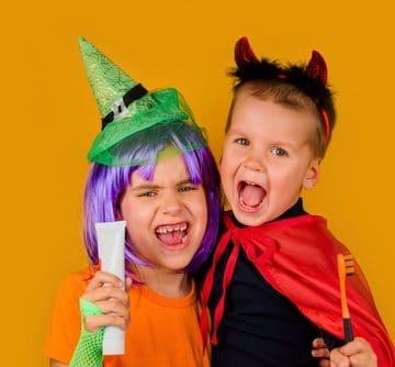 Healthy Kids Teeth at Halloween